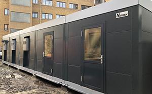 Wilrijk Belgium temporary kitchen